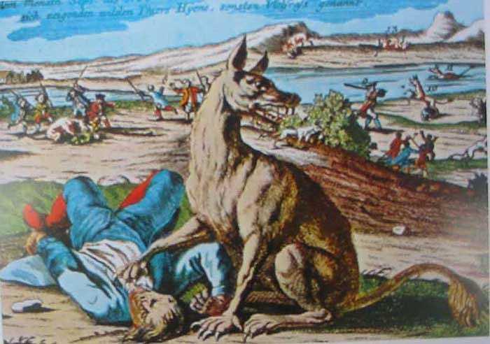 Quá kinh hoàng, ám ảnh mà người dân nơi đã nghĩ ra câu chuyện truyền thuyết về một con vật có tên là Gevaudan, như một nỗi ám ảnh siêu nhiên.