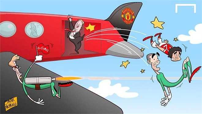 Van Gaal tống khứ những cầu thủ vô dụng khỏi Man Utd