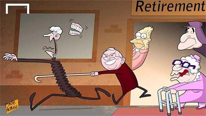 Wenger sợ hãi cơn khủng hoảng khi về hưu