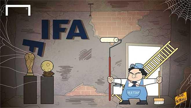 Platini có đủ sức chiến thắng trong cuộc đua vào chức chủ tịch FIFA.