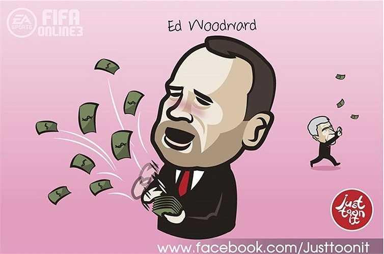 Man Utd vung tay mua sắm còn Arsenal chỉ chăm chăm thu bạc lẻ.
