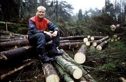 Klas Ingesson - Cựu tuyển thủ Thụy Điển làm nghề thợ xẻ gỗ