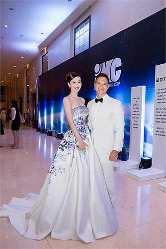 Kim Lý cũng tham gia sự kiện này