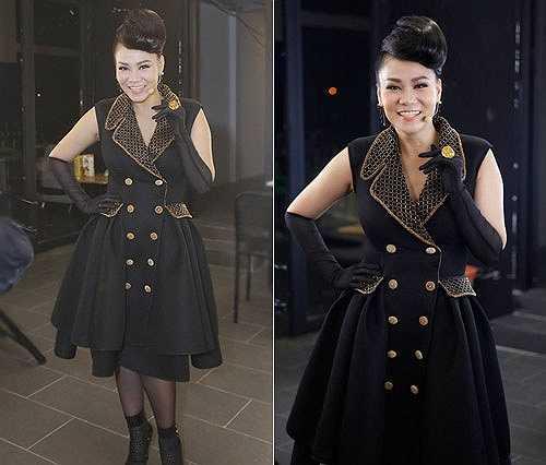 Khoảng 3 tuần sau lâm bồn, nữ ca sĩ Đường Cong đã xuất hiện trên ghế nóng của cuộc thi Vietnam Idol 2015 khiến khán giả vừa tò mò và thích thú.