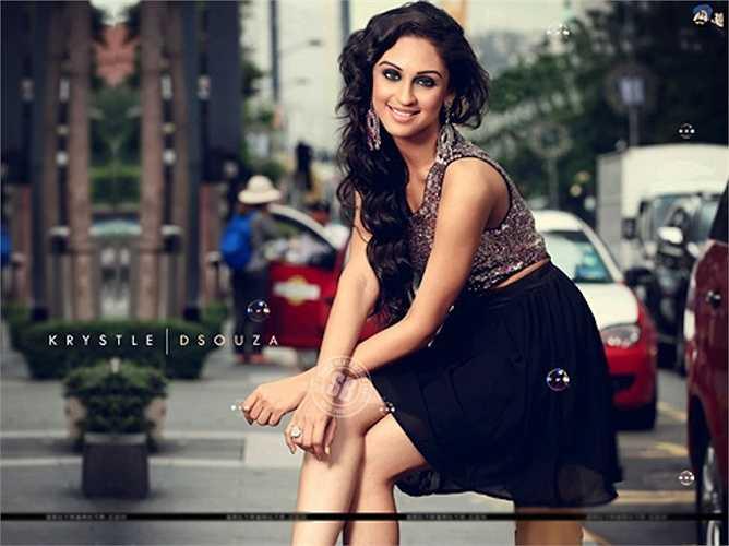 9. Krystle Dsouza được đông đảo công chúng yêu mến bởi vẻ đẹp thánh thiện và khả năng diễn xuất rất đáng khâm phục