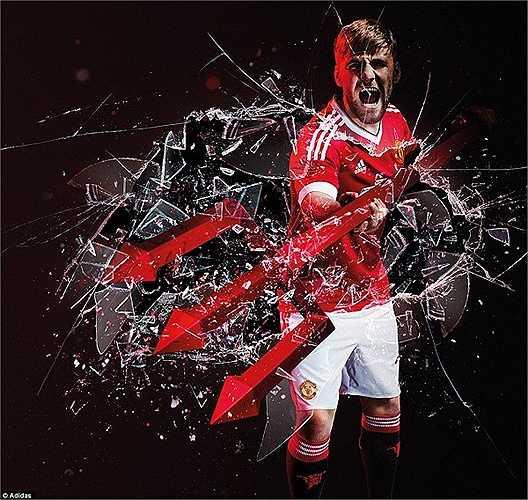 Manchester United vừa cho ra mắt hình ảnh quảng bá cho bộ quần áo mới ở mùa giải 2015-2016.
