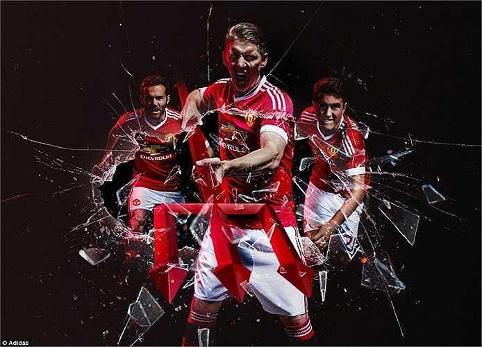 Adidas đánh dấu sự trở lại của mình bằng một cách tiếp cận cực kỳ mạnh mẽ, nổi rõ cá tính, sức mạnh của Quỷ đỏ.