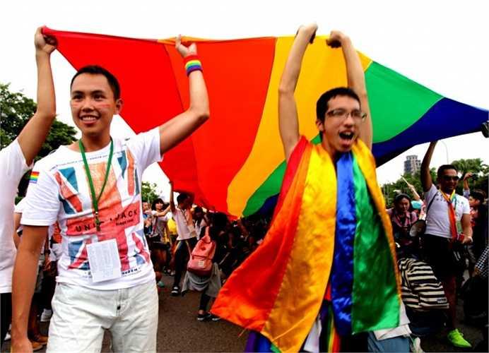Đài Loan. Từ năm 2012, nhiều quan chức ở quốc gia này đã rục rịch thực hiện những sự thay đổi. Họ điều tra và nhận thấy 54% số lượng người dân ủng hộ hôn nhân đồng giới và rất có thể Chính phủ nước này sẽ sớm công nhận