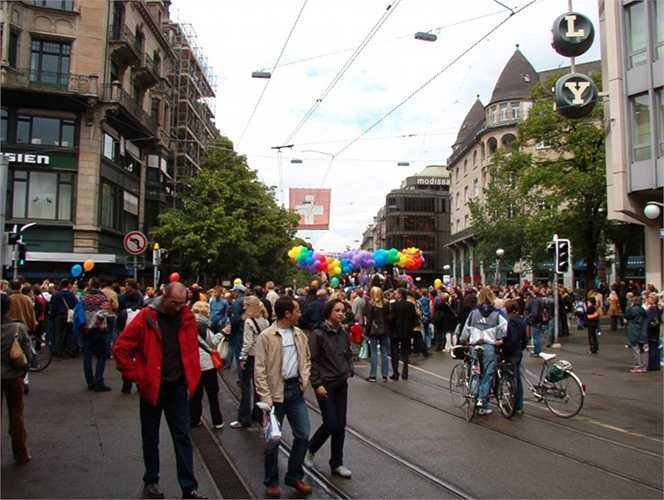Thụy Sỹ. 71% người Thụy Sĩ đồng ý với hôn nhân đồng giới. Theo các thống kê, sự hoạt động của những hội người LBGT trên quốc gia này vẫn phát triển đều đặn hàng năm và họ vẫn đấu tranh đòi quyền bình đẳng cho hôn nhân đồng giới