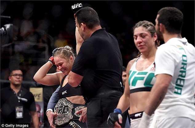 Ronda Rousey đang muốn thách đấu với những nam võ sỹ ở cùng hạng cân