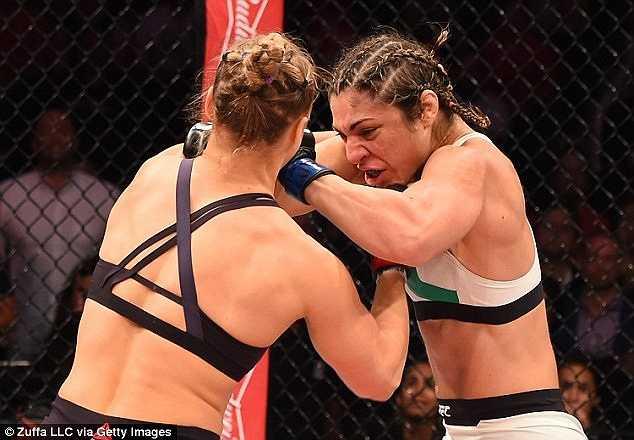 Song trước sức mạnh của Ronda Rousey, Bethe hoàn toàn lép vế