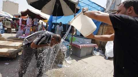 Nắng nóng kinh hoàng đe dọa sức khỏe, tính mạng dân vùng Trung Đông