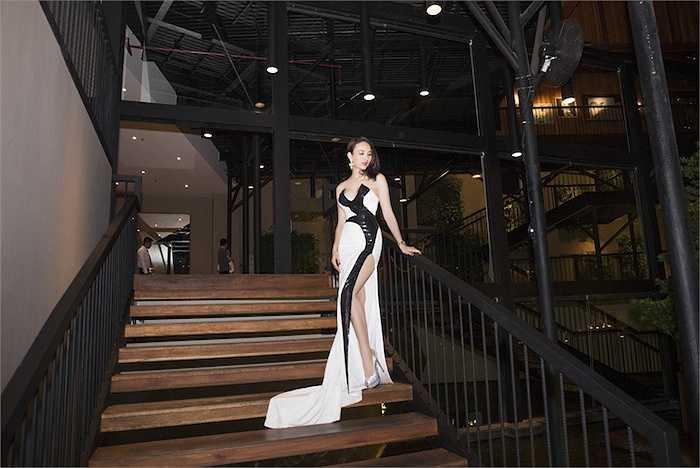 Vừa qua, Ngọc Diễm xuất hiện với vai trò trong những thành viênban tổ chức trong một cuộc thi Hoa hậu Hoàn vũ.