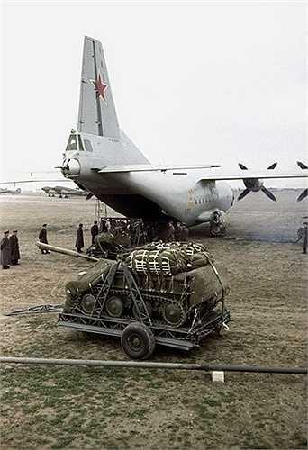 Lực lượng đổ bộ dù của Nga có khả năng thả các xe thiết giáp xuống mục tiêu