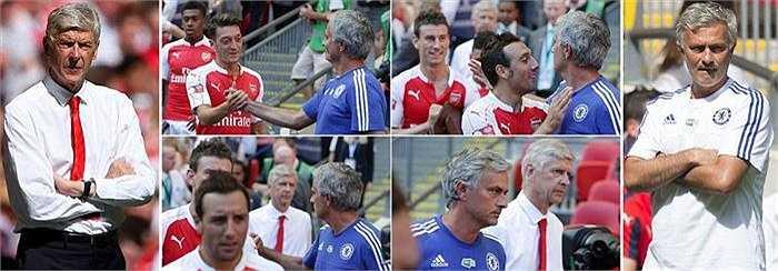 Bỏ qua cuộc 'chiến tranh lạnh' giữa Jose Mourinho và Arsene Wenger, người hâm mộ trên khắp thế giới đã có dịp kiểm chứng tài năng của một trong những thủ môn xuất sắc nhất thế giới hiện tại - Petr Cech