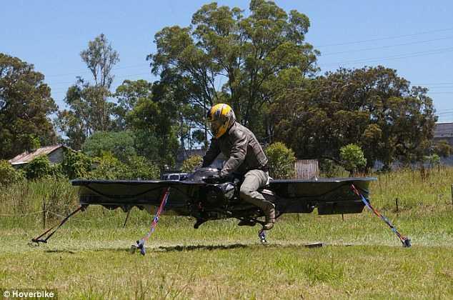 Mô hình xe tuần tra bay của công ty Malloy Aeronautics