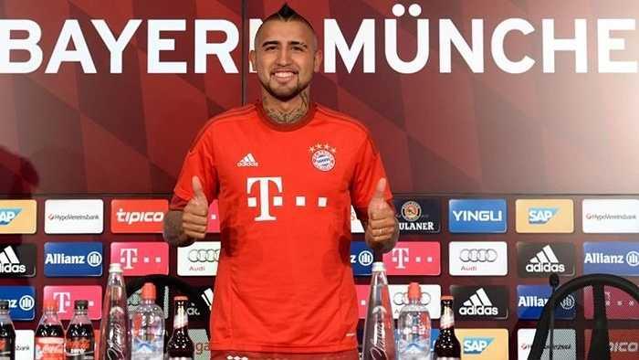 Thương vụ rất đáng chú ý của Arturo Vidal đã đến hồi kết, khi anh này chuyển đến Bayern Munich với giá 28 triệu bảng - kỷ lục của CLB