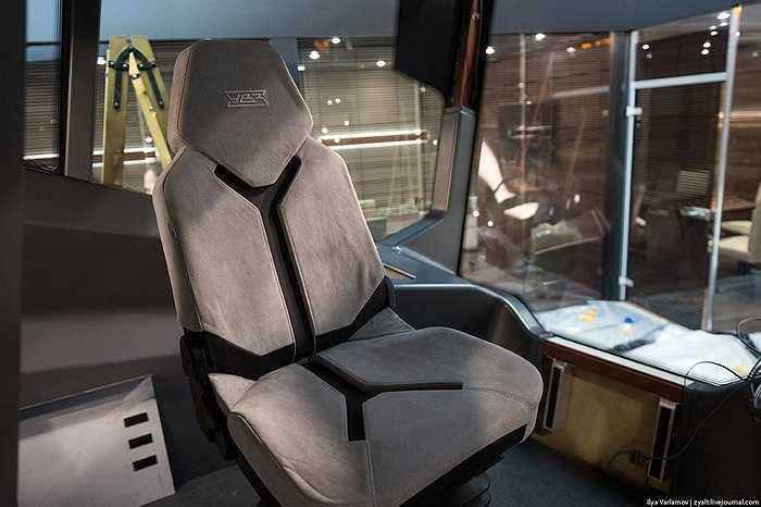 Đây là ghế ngồi dành cho người lái tàu