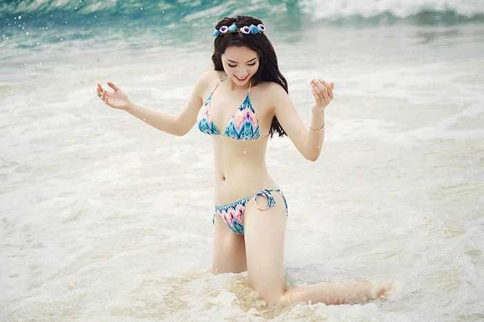 Những bức ảnh được tranh thủ chụp trong thời gian cô đi nghỉ dưỡng cùng mẹ.