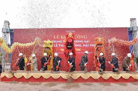Lễ khởi công TTTM Vincom Lê Thánh Tông - Hải Phòng