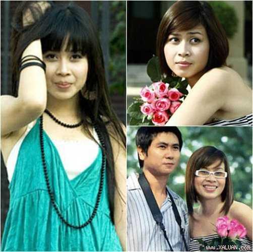 Sở hữu gương mặt bầu bĩnh, trong sáng, Lưu Hương Giang trước đây chuộng phong cách thời trang nhí nhảnh, dễ thương.