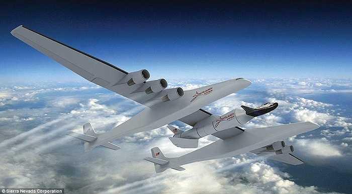 Stratolaunch Carrier, máy bay lớn nhất thế giới