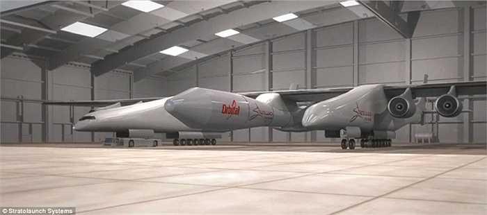 Ý tưởng của chiếc máy bay này là hoạt động như một đệm khí khổng lồ