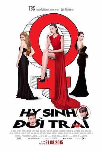 Bộ phim hài vui nhộn, đặc sắc 'Hy sinh đời trai' của nhà sản xuất Trần Bảo Sơn và đạo diễn Lưu Huỳnh đã hoàn thiện mọi công đoạn cuối cùng để kịp ra mắt vào ngày 21/08 tới.