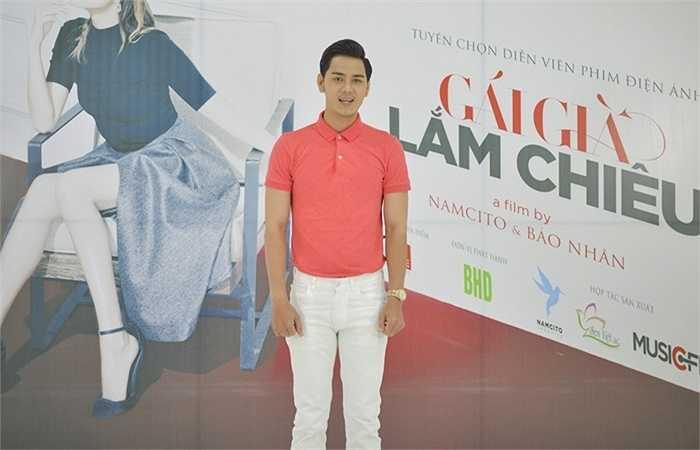 Diễn viên - người mẫu Lê Thanh Tâm cũng đến để tham gia casting cho phim.