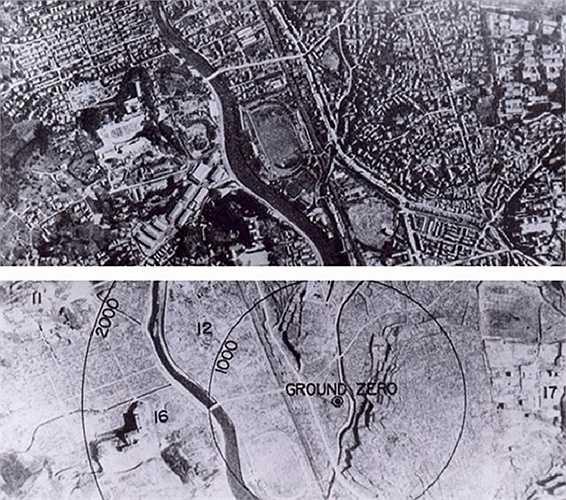 Thành phố Nagasaki bị san phẳng trong chốc lát