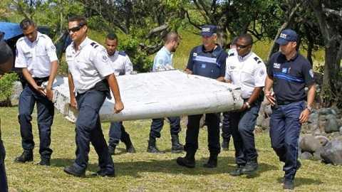 Mảnh vỡ được tìm thấy trên đảo Reunion ngày 29/7