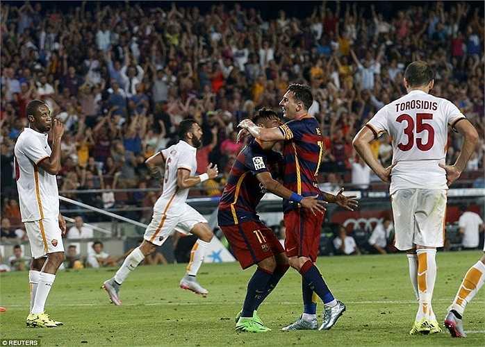 Chung cuộc Barca thắng 3-0
