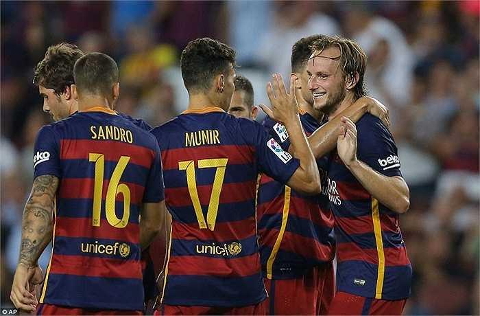Ivan Rakitic là ngôi sao bình lặng ở Barca nhưng vị trí của anh đang dần trở nên không thể thay thế được.