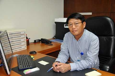 Tổng giám đốc Lương Mạnh Hoàng