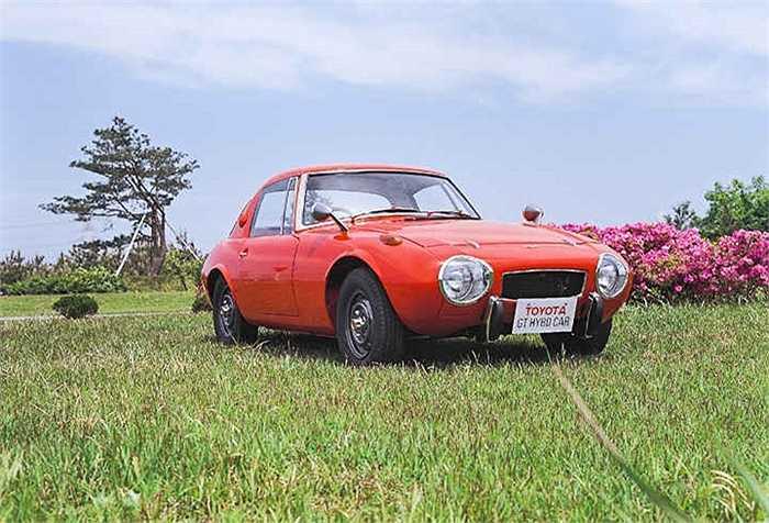 Chiếc Toyota Hybrid đầu tiên được ra đời năm 1968, được sử dụng động cơ turbo 'hoành tráng' nhất thời bấy giờ.