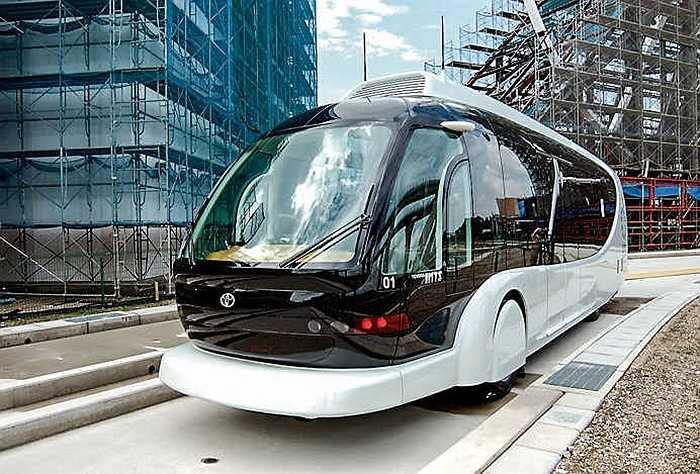 Toyota đầu tư xây dựng hệ thống vận tải công cộng, tính năng vận hành tự động, sử dụng hệ thống thông minh Transit Multimode tân tiến nhất.
