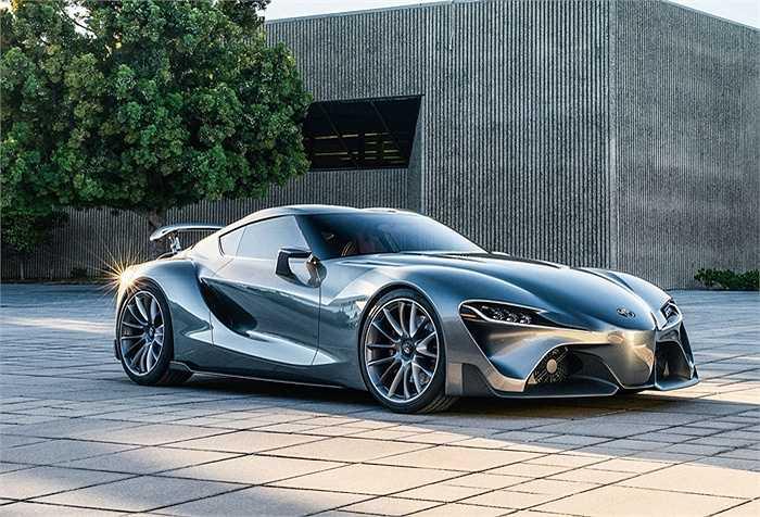 Toyota và BMW hiện đang hợp tác phát triển một chiếc xe thể thao 'khủng' chưa từng có, chưa ai biết chi tiết về dự án này. (Trần An)