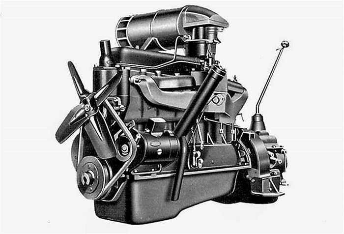 Động cơ đầu tiên mà Toyota tự lắp ráp sản xuất mang tên Chevy. Với công suất 65 mã lực, sức mạnh lớn hơn 10% so với các mẫu xe của Mỹ cùng thời.