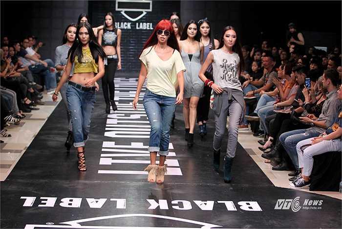 Nhãn hàng thời trang này đã chọn được hai gương mặt đầy góc cạnh để truyền tải thông điệp về dòng thời trang cá tính, năng động của mình