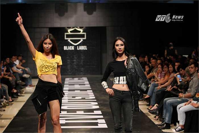 Thời trang Black Label với thiết kế độc đáo, tôn dáng như được may đo riêng, cách tân từ những chiếc áo khoác da đen huyền thoại được may thủ công rất phổ biến trong thời kỳ đầu của trào lưu chơi xe phân khối lớn.