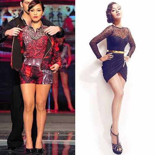 Lỗi kéo dài chân quá đáng khiến Phương Vy đẹp tựa một người mẫu