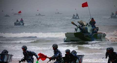 Hải quân Nga - Trung Quốc tập trận chung trên biển