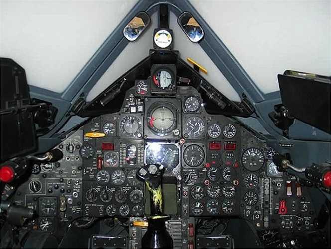 Hệ thống điều khiển nhiều chức năng của 'Con chim đen' BlackBird SR 71 khá phức tạp