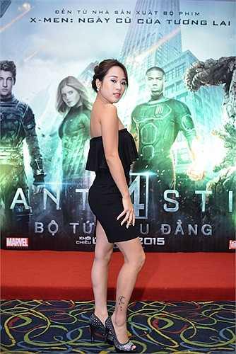 Nữ diễn viên của Nhật ký Vàng Anh ngày nào theo đuổi phong cách quyến rũ.