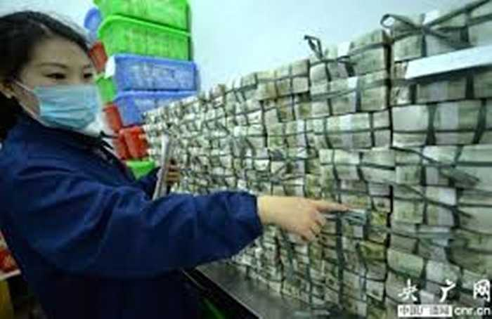Số tiền thu về ước tính lên đến hàng chục triệu nhân dân tệ mỗi ngày.