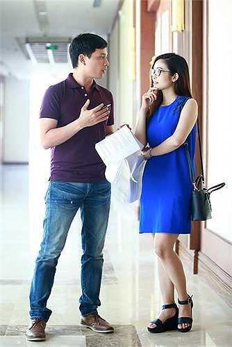 Cặp đôi MC đẹp đôi của VTV từng gây dấu ấn với hình ảnh và phong cách dẫn ăn ý trong chương trình Bài hát yêu thích 4 năm qua