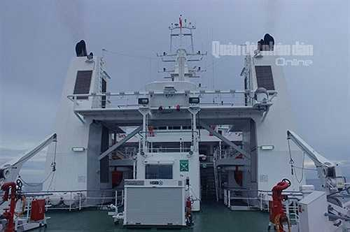 Tàu có chức năng nhiệm vụ tuần tra bảo vệ chủ quyền biển, đảo, thực thi pháp luật trên các vùng biển và thềm lục địa; cứu kéo tàu bị nạn; tìm kiếm cứu nạn trên vùng biển Việt Nam và quốc tế khi có yêu cầu.