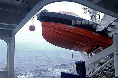 Tàu có lượng giãn nước đến 2.200 tấn. Tàu hoạt động trong thời tiết sóng gió cấp 12, thời gian hoạt động liên tục trên biển là 40 ngày đêm, tầm hoạt động là 5.000 hải lý.