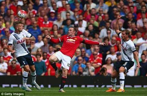 Rooney chơi không thực sự tốt trong trận khai mạc
