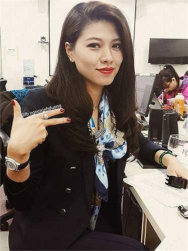 Được đánh giá là một trong những MC có gu ăn mặc đẹp khi lên hình, Ngọc Trinh từng chia sẻ hầu hết những trang phục lên hình đều do cô tự chọn và kết hợp mà không có stylish. Trước khi làm MC, mơ ước lớn nhất của Ngọc Trinh là làm nhà thiết kế thời trang.
